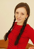 Cutie pie with long braids desperately needs to get fucked.