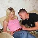 Virgin blonde screwing