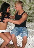 Sex with passionate girl