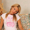Hot mind-blowing Silvia uncovers her juicy teeny body for your viewing pleasure.