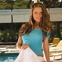 Hands down her cute white panties
