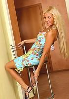 Ukrainian hottie shows off her stunning figure