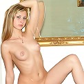 Marta gets naughty with her feather duster