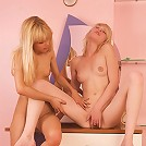 Two exciting blondes