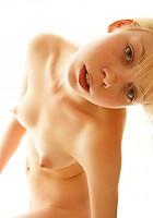 Alice posing naked