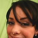 18 year old dark hair beauty Paulina giving head and sofa sex