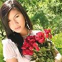 Thai Rose Hana Strips Outdoors On Bench