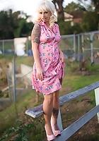 Lynn In A Pink Dress