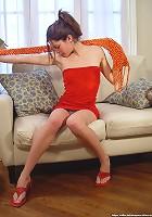 Sofias short skirt