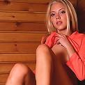 Slim nonnude teen in the sauna
