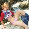 Lindsey Marshal in her bikini