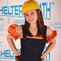 Gia Knight at a construction site stripping!