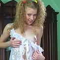 Girl in sex lingerie