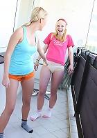 Two cute lesbians