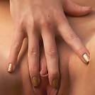 Awesome bikini babe strokes cunt