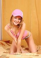 Stunning long teenage babe naked