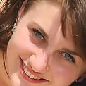 Innocent brunette