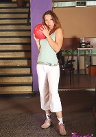 Senior enjoys sexy bowling party