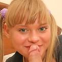 Horny schoolgirl Nesti fucks her lucky boyfriend
