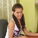 Amazing schoolgirl Fiva gets fucked by her boyfriend