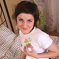 Brunette teen girl Alma loves both her holes filled