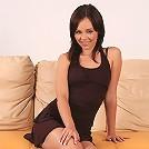 Nikitta - Gorgeous brunette strips and dildos
