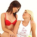 Nikitta and Valeria - Gorgeous teens get naked and lick