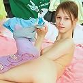 Sensual striptease