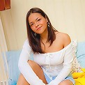 Hot busty Maya posing