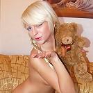 Blonde Teen shows off her perfect ass