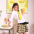 Camel-toe pictures of sexy 18yo schoolgirl Caprice