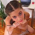Beautiful Caprice gets naked and prepared to chat with fans