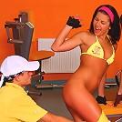See what happens when 4 teens seduce their gym coach