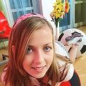 Having fun while testing my new webcam