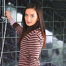 This gorgeous brunette teen loves to take a bath but more than that she loves stripping off to take a bath because as she watches her tight body in the mirror she lets her fingers tease her warm wet pussy!