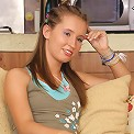 You have to love European teens like this cutie. She`s supposed to be practicing her English with her tutor, but it looks like she`s practicing her oral skills on his cock instead.